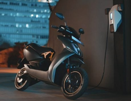 Ather 450X electric scooter with 4G, and Android launched