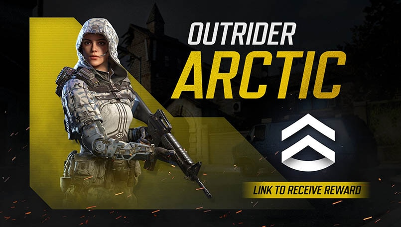 Call Of Duty Mobile Giving Away Free Outrider Arctic Skin