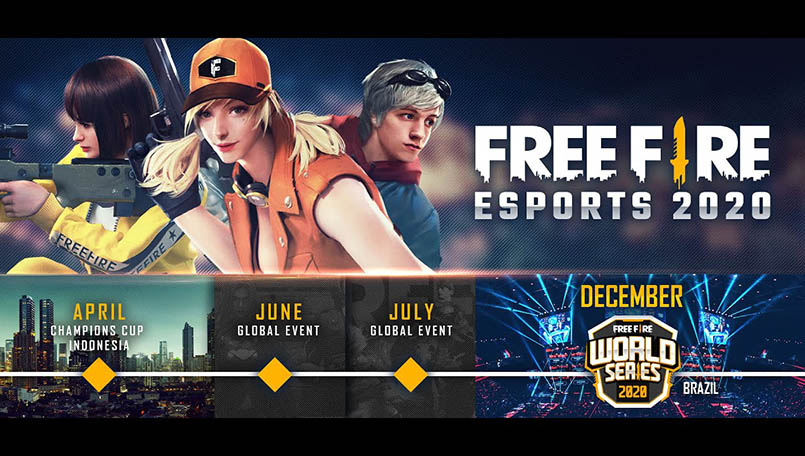 Garena announces Free Fire Champions Cup and Free Fire World Series
