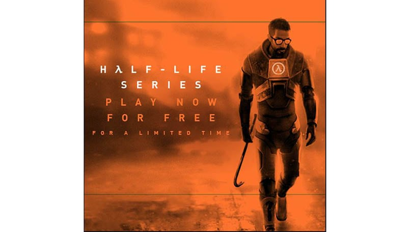 Half-Life series available for free on Steam