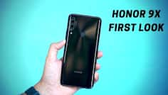 Honor 9X First Impressions