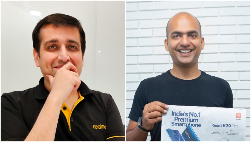 Realme-Xiaomi Twitter war continues as Realme CEO asks Xiaomi to 'behave'