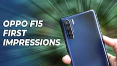 Oppo F15 First Impressions