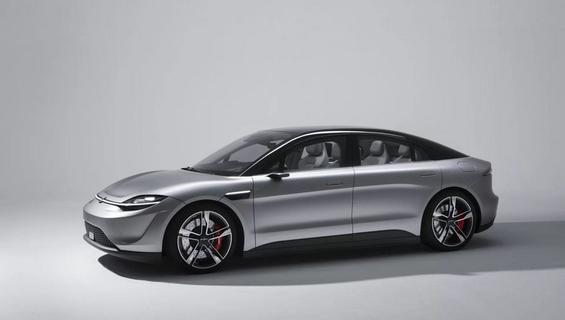 Sony Vision-S electric concept car revealed at CES 2020