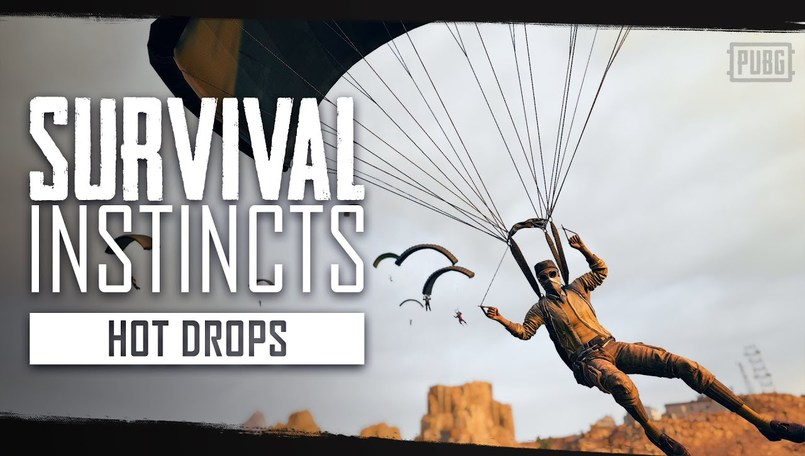 PUBG releases new Survival Instincts episode with Hot Drops tips