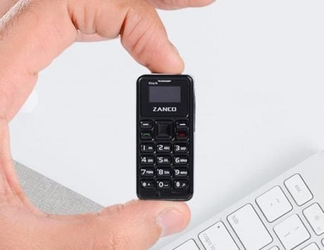 Zanco tiny t2: Smallest 3G smartphone now on Kickstarter