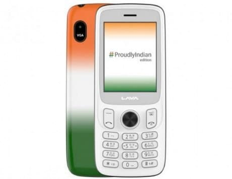Lava A5 Proudly Indian edition feature phone launched