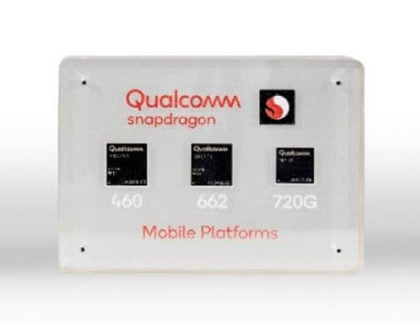 Qualcomm Snapdragon 460, 662 and 720G SoCs announced