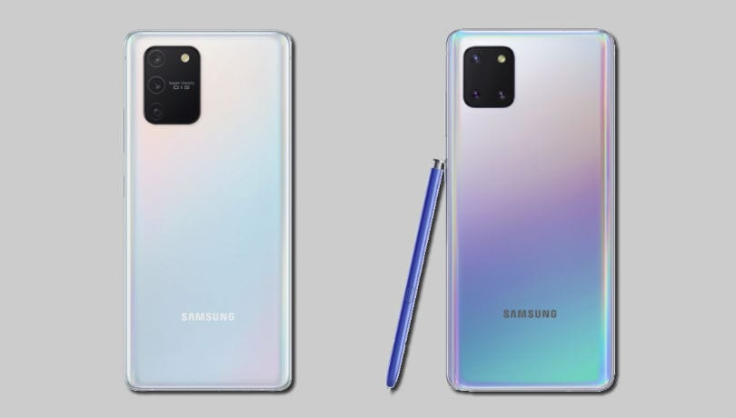 Samsung Galaxy S10 Lite vs Galaxy Note 10 Lite: What's different