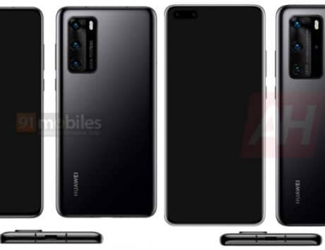 Huawei P40, P40 Pro new renders revealed