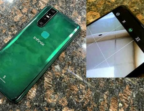 Infinix S5 Pro real-life photos leaked showing pop-up camera, notch-less screen