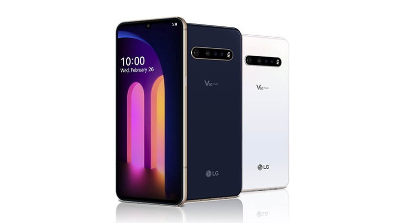 LG V60 ThinQ 5G launched with Snapdragon 865 SoC and dual screen