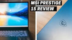MSI Prestige 15 Review