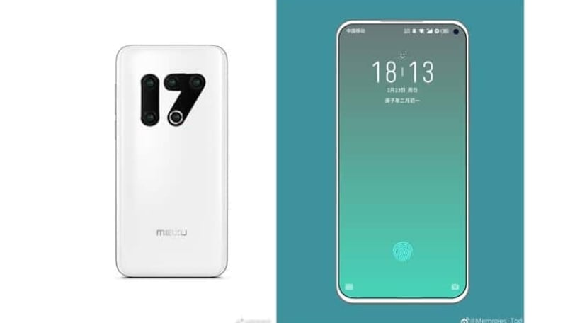Meizu 17 render reveals the most unique triple-camera layout we have seen so far