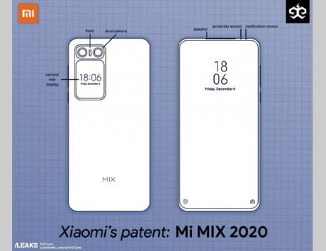 Xiaomi Mi MIX 2020 patent reveals two screens