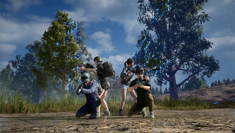 PUBG update 6.2 brings cross-play on Xbox One X and PS4