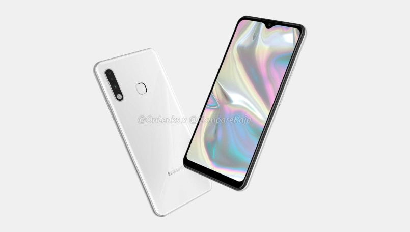 Samsung Galaxy A70e renders surface online with triple-camera and Infinity-V display