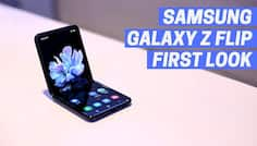 Samsung Galaxy Z Flip: First Look