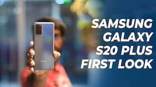Samsung Galaxy S20+ Unboxing and First Look