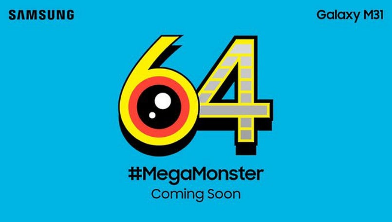 Samsung Galaxy M31 'coming soon' with 64MP camera, teaser out on Twitter