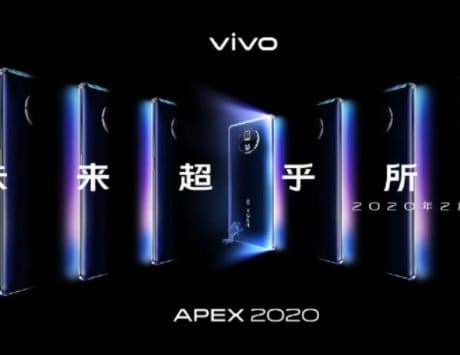 Vivo APEX 2020 concept phone to launch on February 28