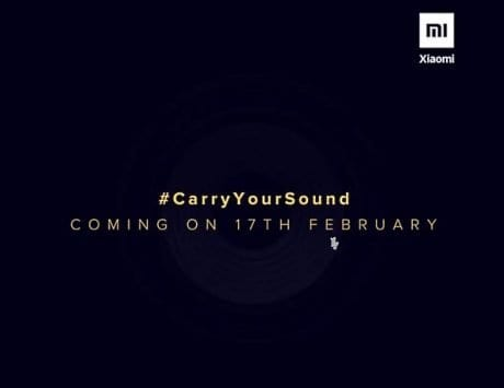 Xiaomi India teases portable Bluetooth speaker launch for February 17