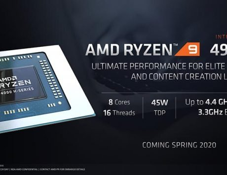 AMD launches Ryzen 9 4000 H-Series Mobile Processors for gaming notebooks