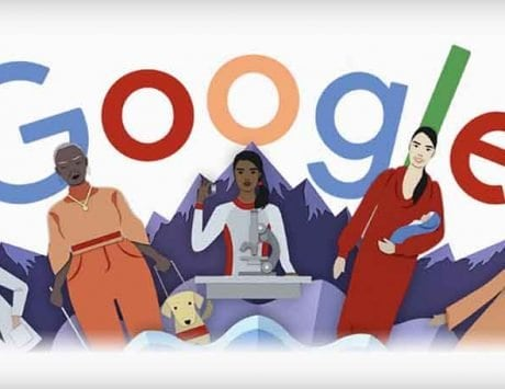 Google Doodle celebrates International Women   s Day