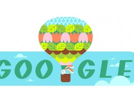 Google Doodle celebrates Spring 2020 with an illustration