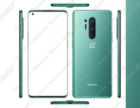 OnePlus 8 Pro press renders leak online with quad-rear camera