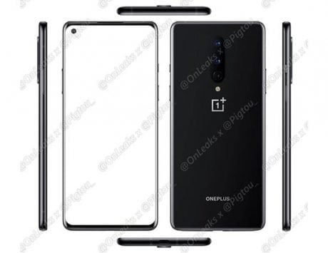 OnePlus 8 press renders leaked; show a triple-camera setup