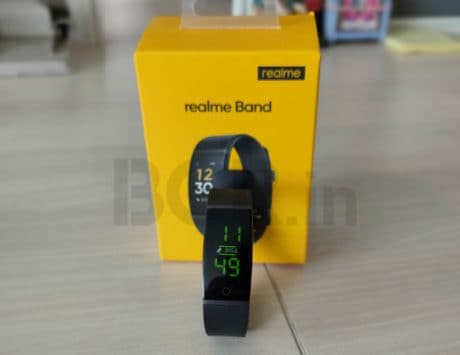 Realme Band launched with heart-rate monitoring for Rs 1,499