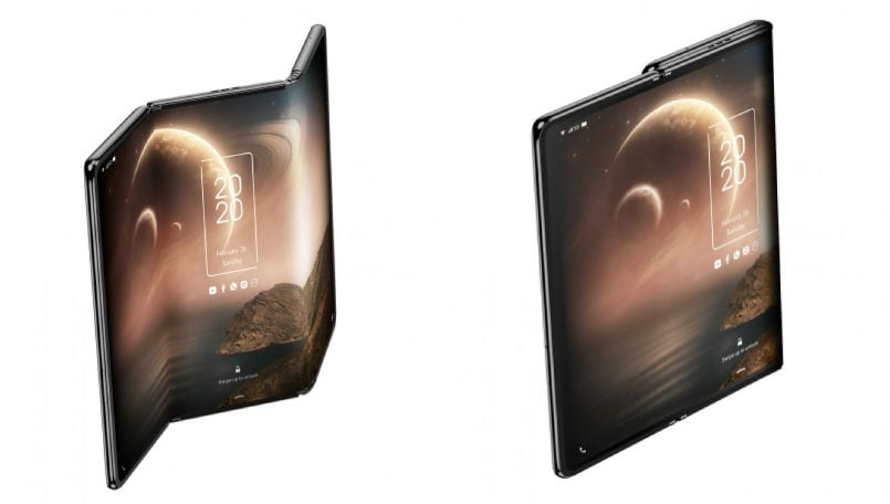 TCL showcases triple folding smartphone alongside a slidable design with rollable AMOLED display