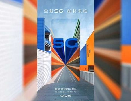 Vivo S6 teaser hints at 5G connectivity