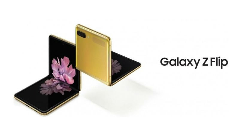 Samsung Galaxy Z Flip mirror gold variant goes on sale today: Price, Specifications