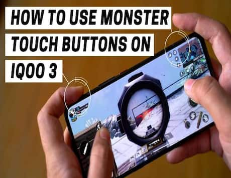 How to use Monster touch buttons on IQOO 3
