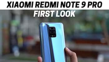 Xiaomi Redmi Note 9 Pro First Look