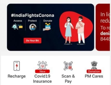 Airtel Payments Bank launches    Fight Corona    section in Airtel Thanks app