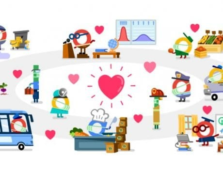 Google thanks all coronavirus front line helpers in final Doodle