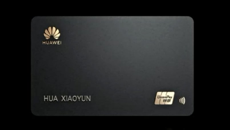 Huawei Card announced in China alongside P40 series, to compete with Apple Card