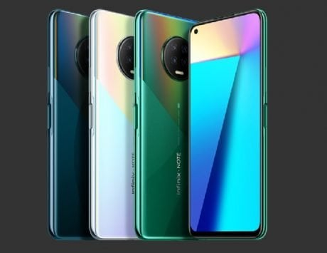 Infinix Note 7 series launched with quad rear cameras, 5,000mAh battery