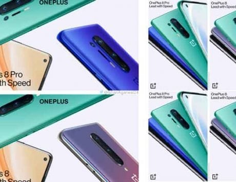 OnePlus 8 Series and Bullets Wireless Z promotional images leaked