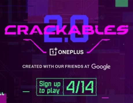 OnePlus is back with Crackables 2.0 puzzle game