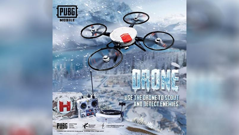PUBG Mobile player uses Arctic Mode drones to make his car fly; check out video