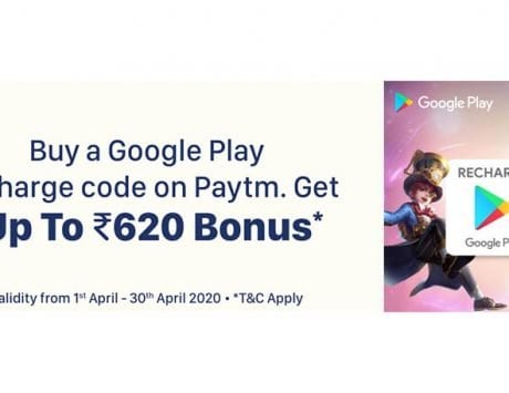 Paytm offering Mobile Legends Google Play bonus up to Rs 620