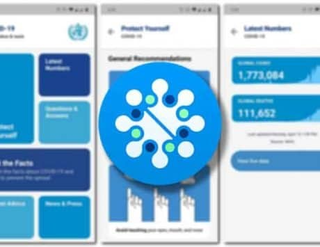 World Health Organization official COVID-19 app spotted online