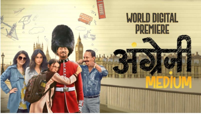 Angrezi Medium releases on Disney Plus Hotstar VIP : Irfan Khan is Back