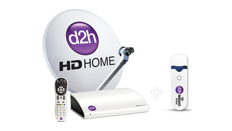 d2h Magicstick and new HD RF Set-Top Box combo pre-booking offer available for Rs 1,599