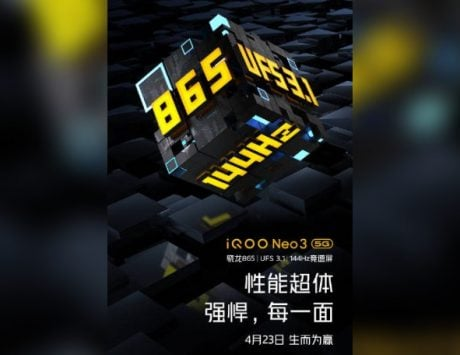 iQOO Neo 3 will be the cheapest phone with Snapdragon 865 SoC