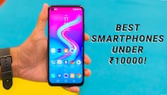 Best Smartphones Under Rs 10,000 in India
